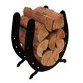 Horse Shoe Wood Rack
