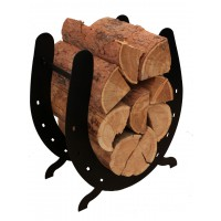 Horse Shoe Wood Rack
