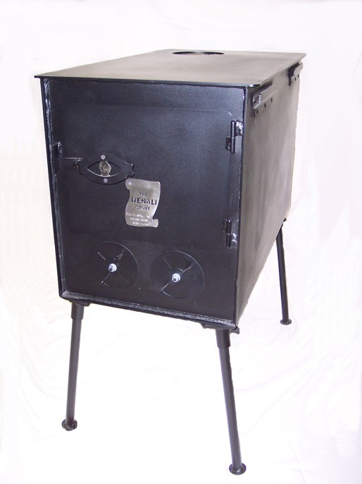 Alaskan wood camp stove and tent stove