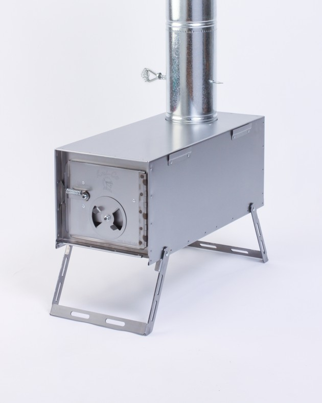 Packer wood camp stove and tent stove
